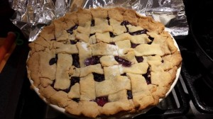 Gluten Free BlackBerry Pie