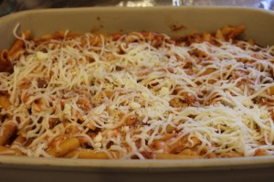 Baked Penne Prepared