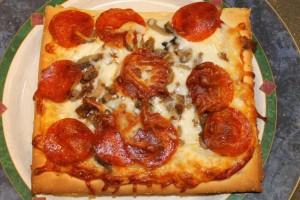 Gluten Free Pizza Baked